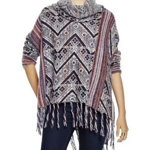free people be the one poncho XS